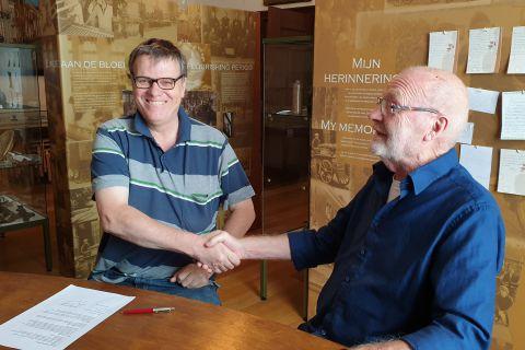 Nieuwe bedrijfssponsor voor Stichting Vrienden van Museum Weesp